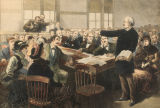 The Trial of President Garfield's Assassin—Dramatic Scene in the Court … during Judge Porter's Argument on the...